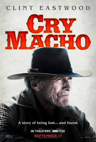 The poster for Cry Macho.