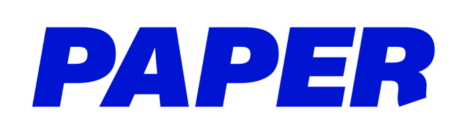 The logo for PAPER from their official website.