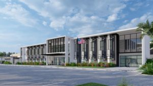 This image is a rendering of the new Robinson.