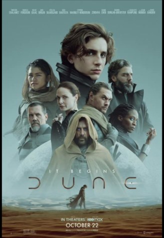 Dune (2021) Theatrical Release Poster